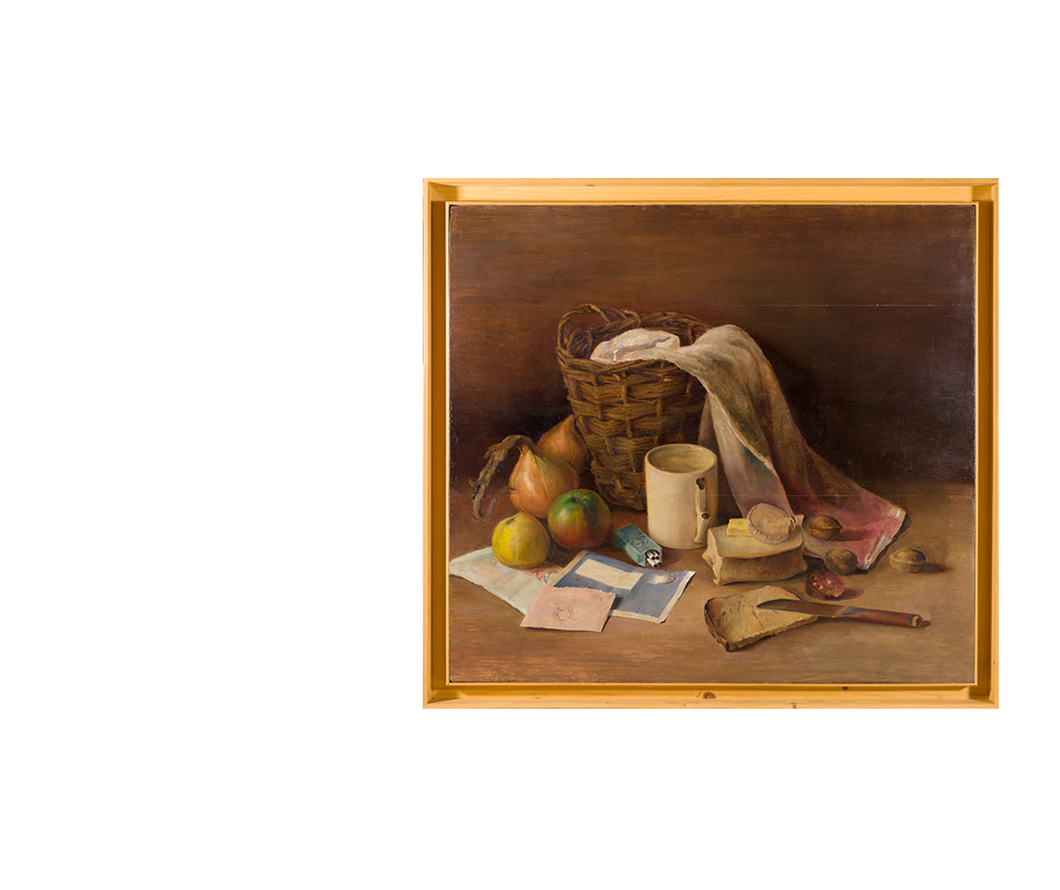 Two Still Lifes Were Smuggled Out Of The Camp And Saved After His Time In Vught Van Sweden Was Sent To The Dachau Concentration Camp In Poland